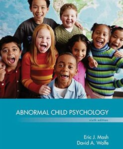 Test Bank For Abnormal Child Psychology 6th Edition