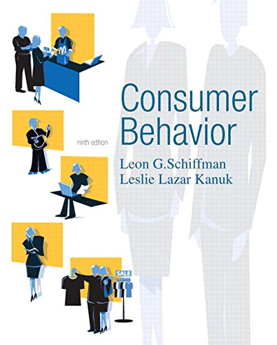 Test Bank For Consumer Behavior (9th Edition) 9th Edition