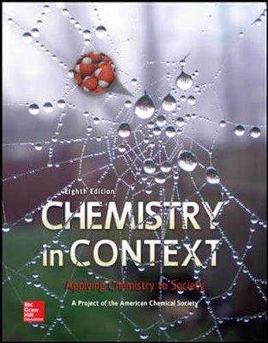 Test Bank For Chemistry in Context 8th Edition