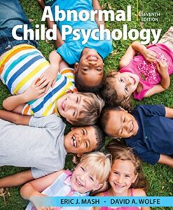 Test Bank For Abnormal Child Psychology 7th Edition