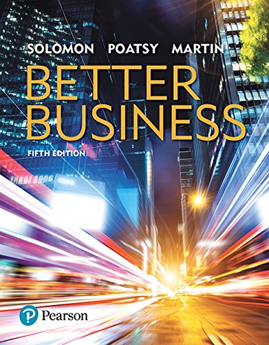 Test Bank For Better Business (5th Edition) 5th Edition