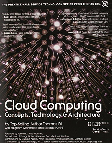 Test Bank For Cloud Computing: Concepts, Technology & Architecture (The Prentice Hall Service Technology Series from Thomas Erl) 1st Edition