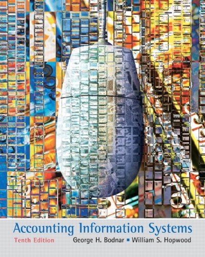 Test Bank For Accounting Information Systems (10th Edition) 10th Edition