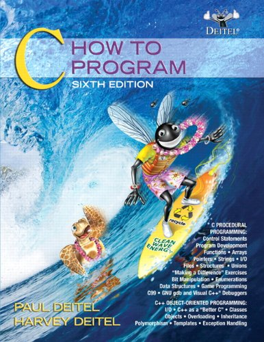 Test Bank For C: How to Program (6th Edition) 6th Edition