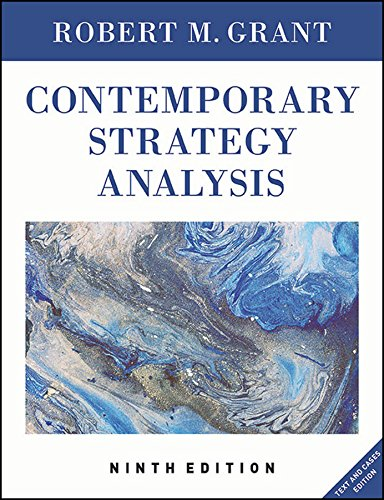 Test Bank For Contemporary Strategy Analysis: Text and Cases Edition 9th Edition