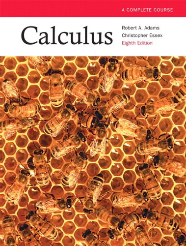Test Bank For Calculus: A Complete Course, Eighth Edition with MyMathLab (8th Edition) 8th Edition