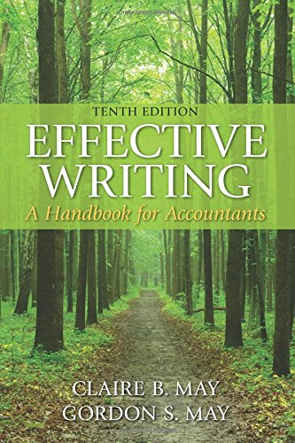 Test Bank For Effective Writing: A Handbook for Accountants (10th Edition) 10th Edition