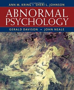 Test Bank For Abnormal Psychology, 12th Edition 12th Edition