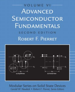 Solution Manual for Advanced Semiconductor Fundamentals, 2/E 2nd Edition Robert F. Pierret