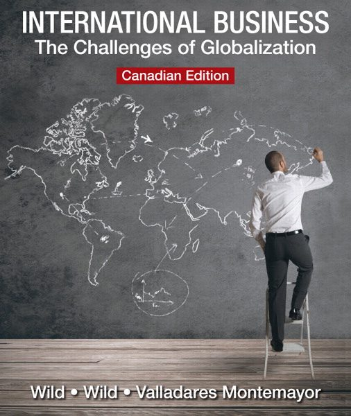 Solution Manual for International Business: The Challenges of Globalization John Wild, Kenneth L. Wild, Halia Valladares