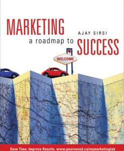 Test Bank for Marketing: A Roadmap to Success Ajay K. Sirsi