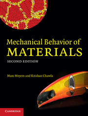 Solution manual for Mechanical Behavior of Materials Meyers Chawla 2nd edition