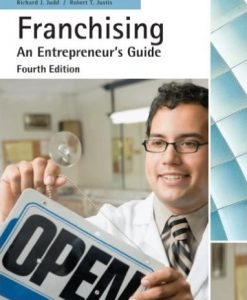 Quizzes for Franchising, 4th Edition Richard J. Judd, Robert T. Justis