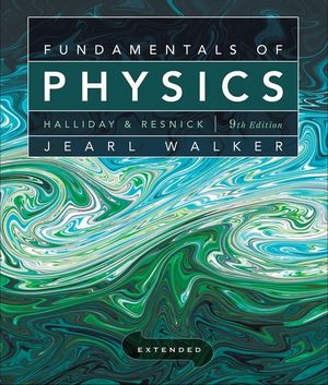 Solution Manual for Fundamentals of Physics Extended 9th. David Halliday, Robert Resnick, Jearl Walker