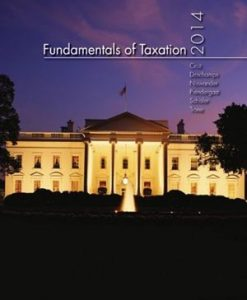 Fundamentals of Taxation 2014 7th Edition Cruz Test Bank