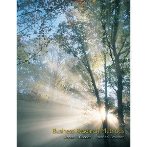Test Bank for Business Research Methods, 10th Edition : Cooper