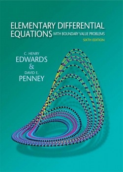 Solution Manual for Elementary Differential Equations with Boundary Value Problems, 6/E Edwards, Penney