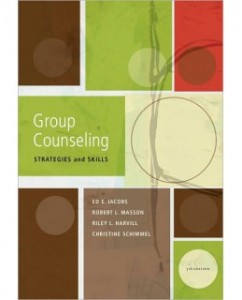 Test Bank for Group Counseling: Strategies and Skills, 7th Edition: Ed E. Jacobs