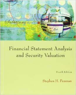 Test Bank For Financial Statement Analysis and Security Valuation 4th Edition by Stephen Penman