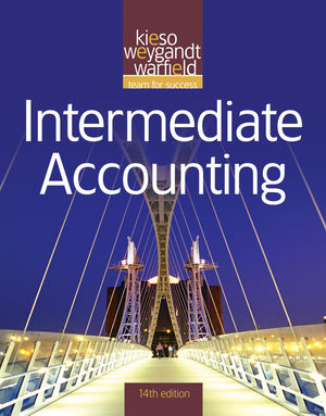 Solution Manual for Intermediate Accounting, 14/E Jerry J. Weygandt, Donald E. Kieso, Terry D. Warfield