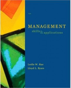 Test Bank for Management, 13th Edition: Leslie W. Rue