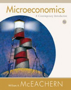 Test Bank for Microeconomics A Contemporary Introduction, 9th Edition: McEachern