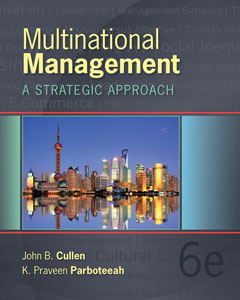 Test Bank For Multinational Management, 6 edition: Cullen Parboteeah