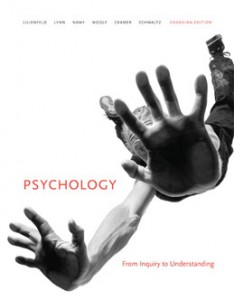 Test Bank for Psychology From Inquiry to Understanding, 1st Canadian Edition: Lilienfeld