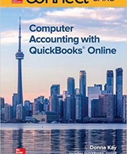 Test Bank for Connect for Computer Accounting with QuickBooks Online 1st Edition