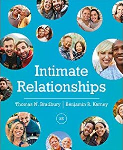 Test Bank for Intimate Relationships 3rd by Bradbury