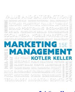 Marketing Management 15th Edition Kotler Solutions Manual