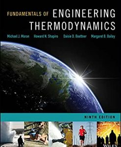 Solution Manual for Fundamentals of Engineering Thermodynamics 9th by Moran