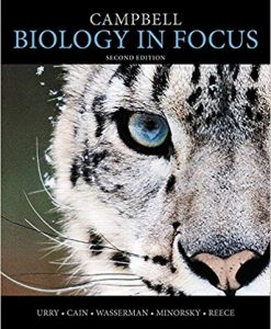 Solution Manual for Campbell Biology in Focus AP Edition 2nd by Urry