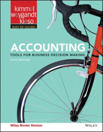 Solution Manual for Accounting: Tools for Business Decision Makers 6th Edition Kimmel ISBN : 111919167X, ISBN : 978-1-118-86977-2, ISBN : 978-1-119-19167-4, ISBN : 9781118869772, ISBN : 9781119191674, ISBN: 9781119624868