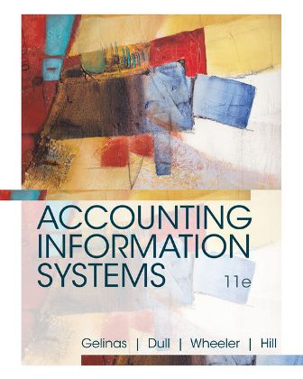 Test Bank for Accounting Information Systems 11th Edition Gelinas ISBN-10: 1337552127, ISBN-13: 9781337552127