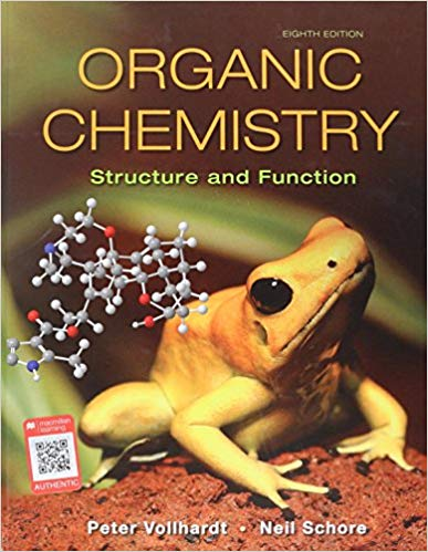 Test Bank for Organic Chemistry 8th by Vollhardt