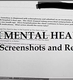 Hesi Mental Health 2018 Most Recent – Updated