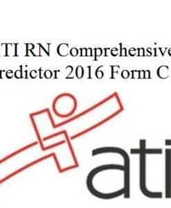ATI RN Proctored Comprehensive Predictor 2016 Form C