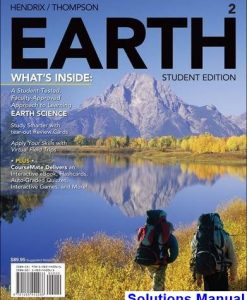 EARTH 2 2nd Edition Hendrix Solutions Manual